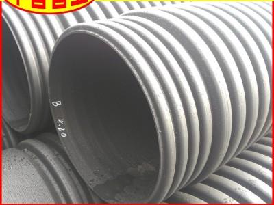 【厂家直供】波纹管DN110SN8农村污水处理项目用排污管