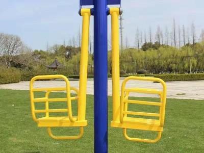 厂家直销 户外健身器材室外运动路径 摇荡座椅双人儿童秋千
