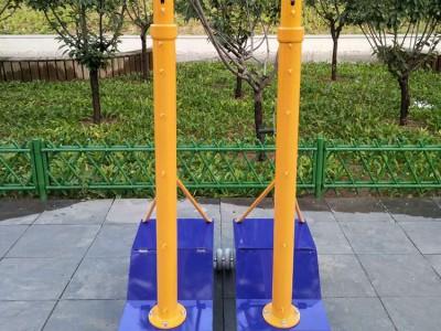 排球柱气排球柱 比赛专用移动式羽毛球柱网球球架