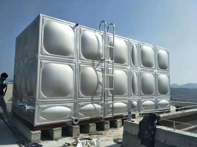 梧州304不锈钢水箱 长方形组合保温生活蓄水箱消防水箱定制