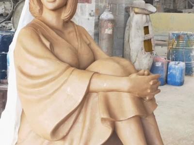 广西南宁玻璃钢雕塑 农业雕塑与农耕文化雕塑定制加工