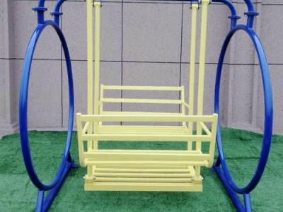 户外秋千铁艺秋千摇椅花园吊椅铁艺秋千室外阳台庭院双人摇椅