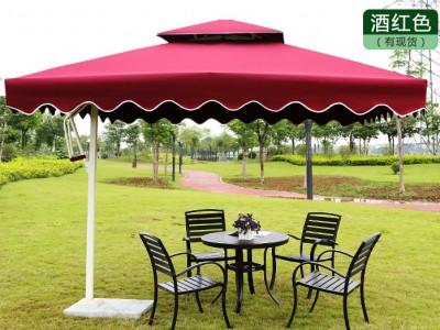 贵港岗亭庭院罗马伞厂家 折叠户外休闲伞价格 量大从优
