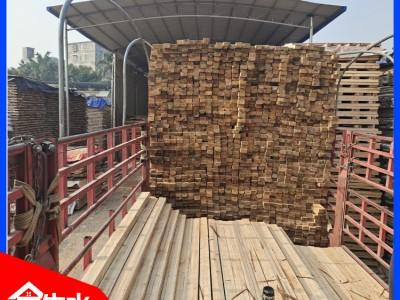 建筑木方多少钱一方 好品质更耐用 降低三分之一成本 金生水
