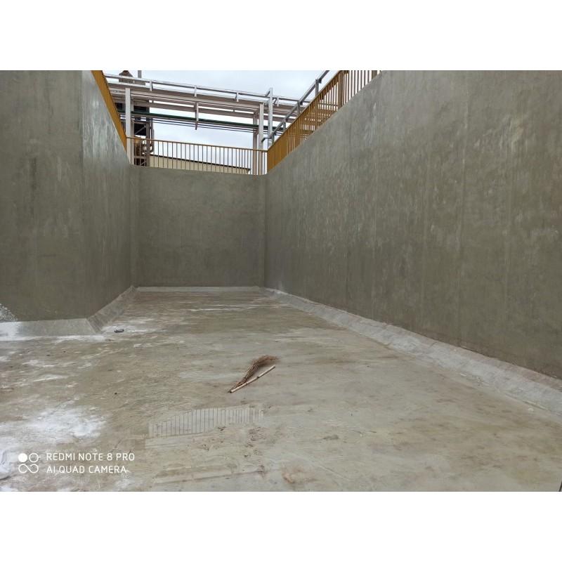 广西电镀厂污水池玻璃钢贴布防腐 化工厂水池玻璃钢防腐
