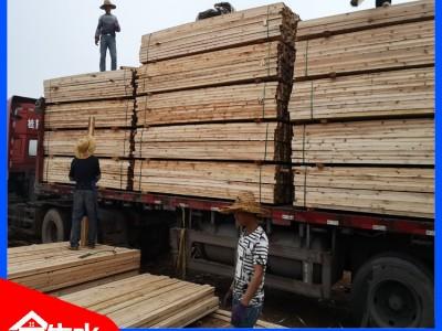 南宁建筑木方规格及价格表 规格大小合适品质好 干劲更足 工期减30% 金生水在线