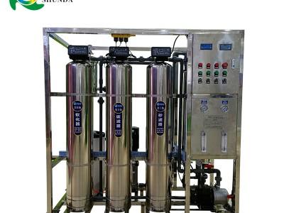 延安0.5吨生活用水一级反渗透纯水设备 去除泥沙重金属