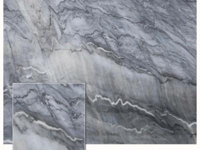 灰色的天然大理石布鲁斯灰矿山直营厂批发 广西天然大理石厂家