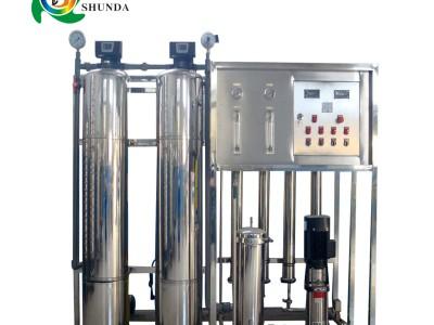玉林电子厂生产用水 一级RO反渗透去离子水设备
