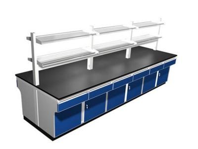 科净环保供应PP中央台 PP实验台 规格多样实验操作台 实验室中央台