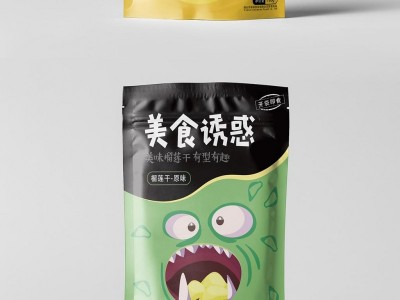 榴莲干食品 彩印包装袋 设计定制 塑料包装印刷厂家