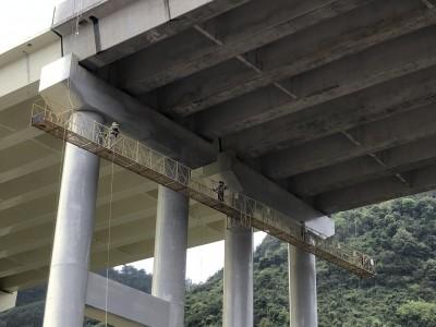 桥梁检测施工平台 22米桥检车价格 桥梁施工吊篮