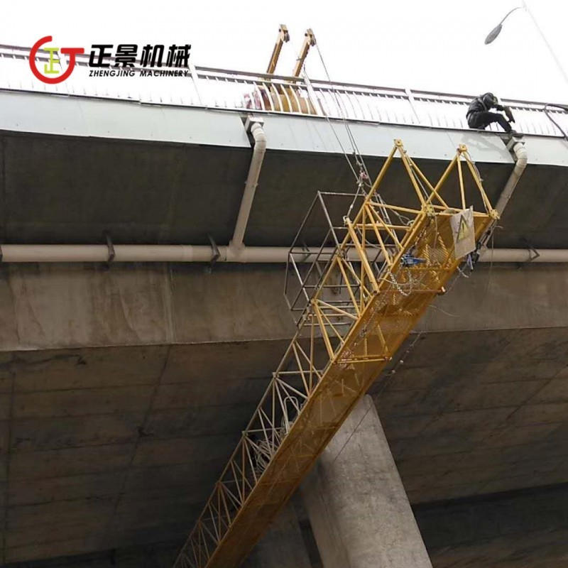 东莞桥梁施工吊篮轨道 桥梁涂装吊篮