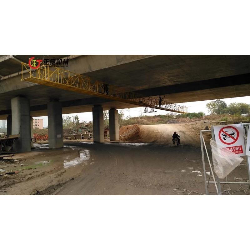 桥梁底部横跨检修电动吊篮 正景机械 桥梁检测车型号