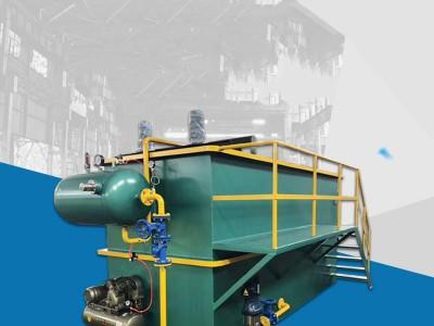 涡凹式溶气气浮机屠宰场养猪场工业污水处理设备除油刮渣气浮机
