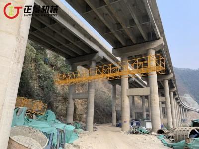 高架桥底部检修施工车 桥梁施工吊篮