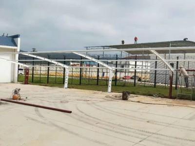 广西膜结构汽车棚 小区车棚改造 充电桩车棚厂家