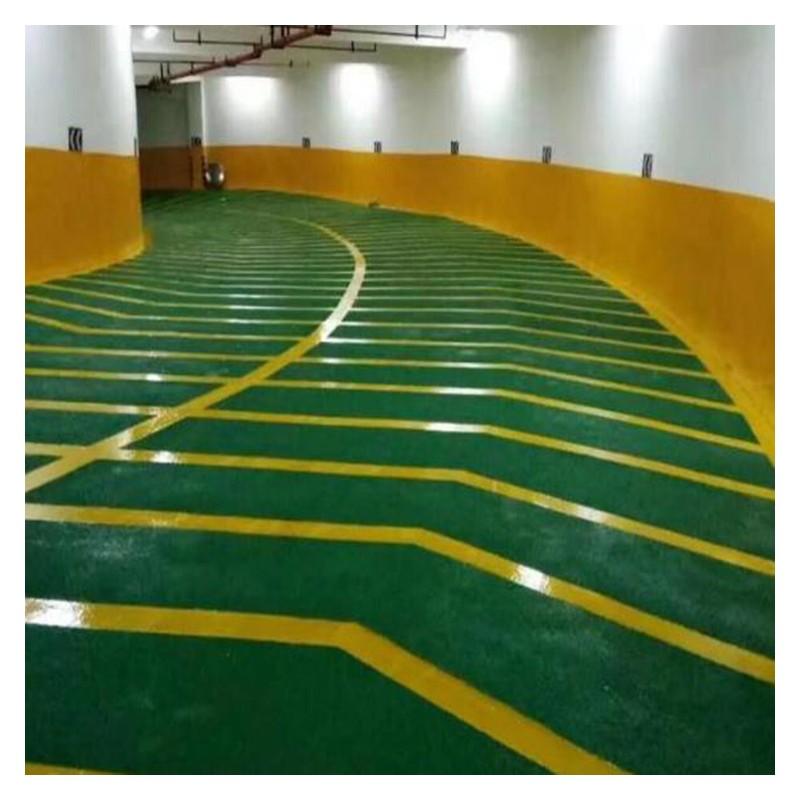 广西车库地坪漆价格 草绿色耐磨环氧树脂地坪涂料 厂家批发销售