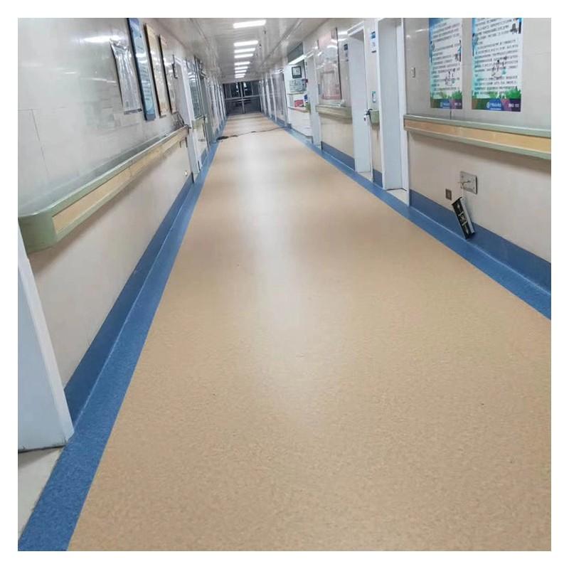 医院办公室学校PVC塑胶地板 耐磨防滑PVC地板 广西运动塑胶地板