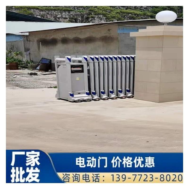 广西鸿兴电动门供应铝合金电动伸缩门 欢迎询价