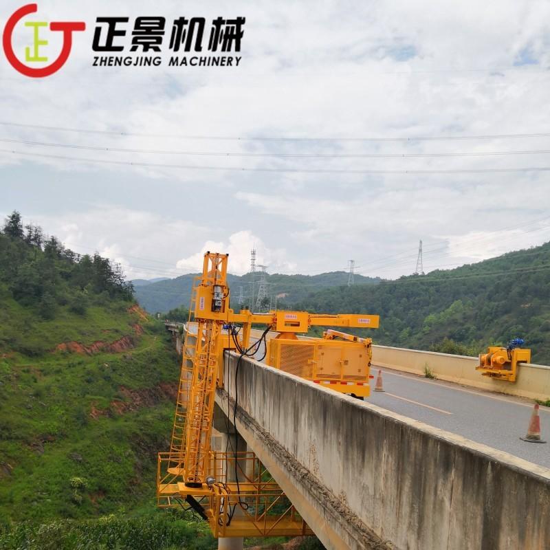 高架桥落水管施工台车 桥梁PVC排水管安装设备 厂家直销