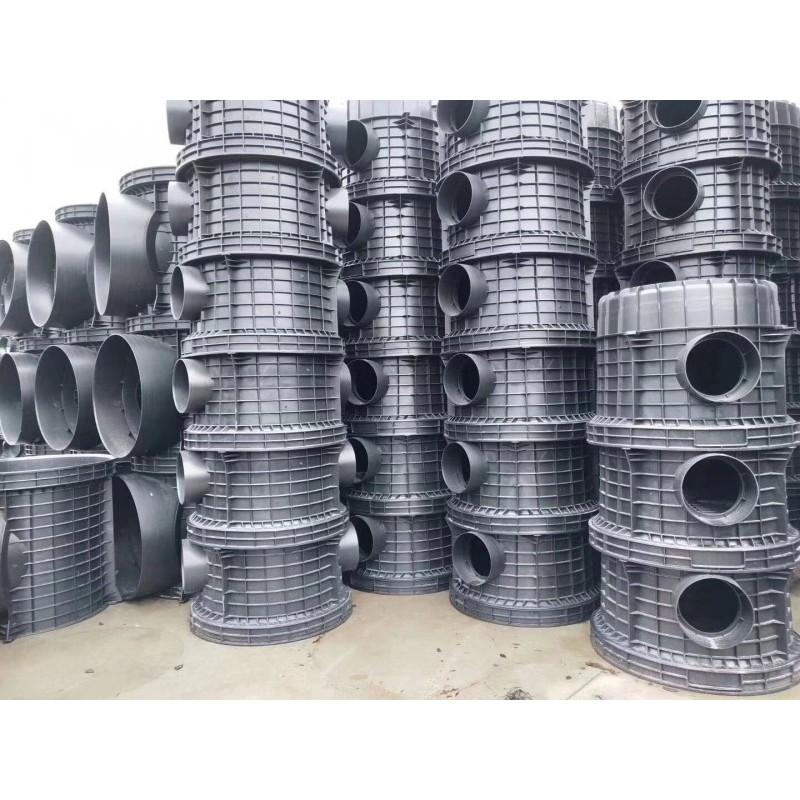 广西南宁HDPE塑料检查井直通井货源充足厂家直销