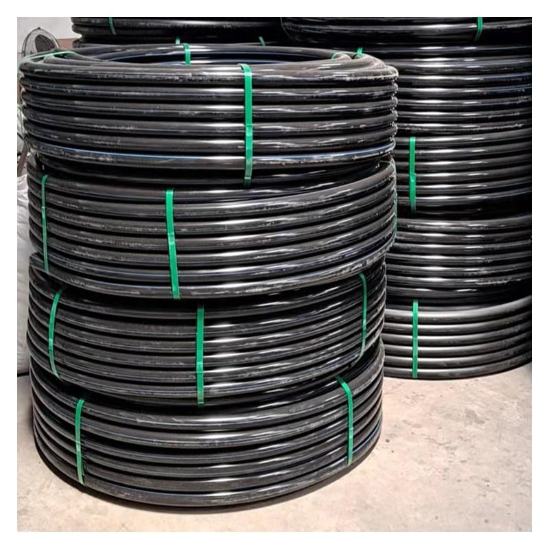广西PE管厂家  自有PE管生产线 40口径PE盘管