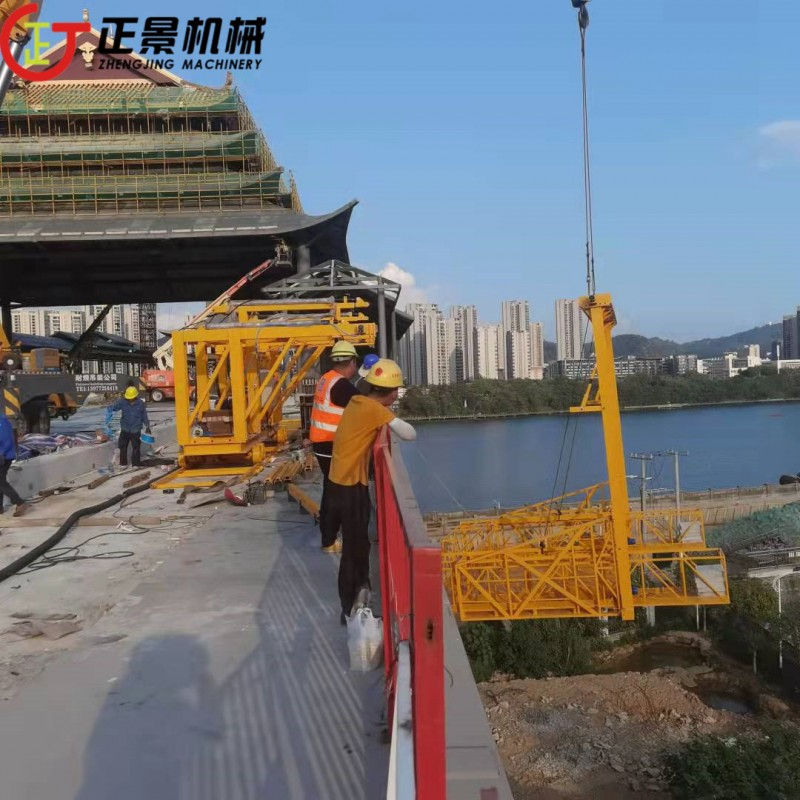 公路桥梁排水管安装 高架桥排水管安装 桥梁水上施工平台