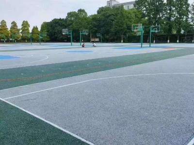 柳州马路人行道透水混凝土工程施工 彩色多孔混凝土透水