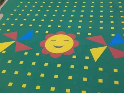 丙烯酸球场地坪施工 弹性硬性丙烯酸地坪漆