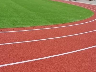 混合型塑胶跑道 彩色EPDM符合国标赛事跑道地坪施工