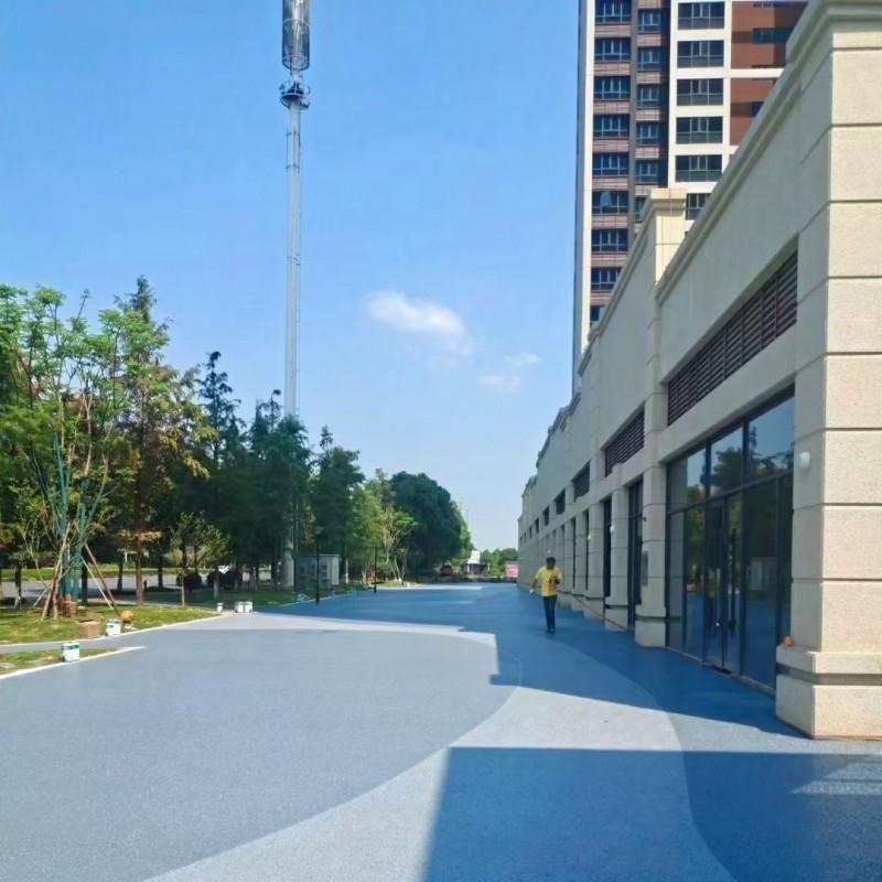 广西多孔混凝土透水工程 彩色混凝土透水路面