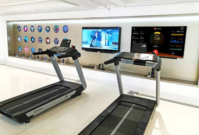 室内健身器材-舒华X6i跑步机